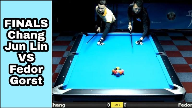 FINALS World 9 Ball Championship 2019 | Chang Jung Lin vs Fedor Gorst