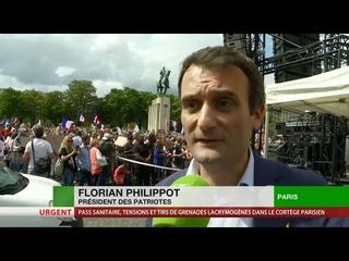 Florian Philippot : «S'ils n'écoutent pas, on organisera le blocage général du pays»
