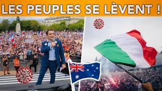 Covid : le soulèvement des peuples devient mondial !