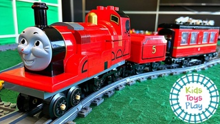 How to Make a LEGO James From Thomas and Friends
