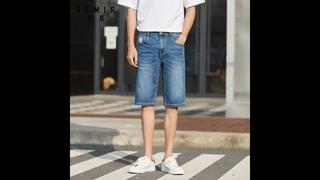 Semir 2020 летние новые короткие джинсы мужские трендовые модные удобные повседневные подростковые