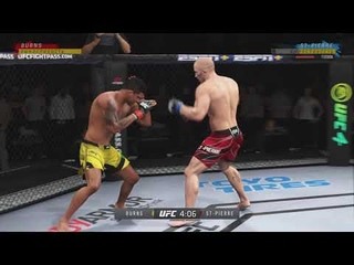 DFL 26 Welterweight: Georges St-Pierre VS Gilbert Burns