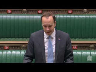 Statement about Covid-19 from Health Secretary Matt Hancock in the House of Commons - 5 October 2020