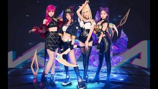 【League of Legends】K/DA - POP/STARS Cosplay Dance Cover (Dance Only Ver.) by 波利花菜园(BoliFlowerGarden)