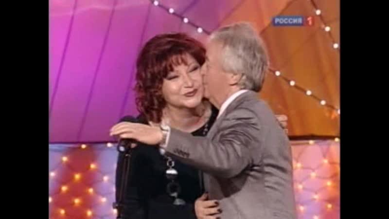 Елена Степаненко поздравляет с юбилеем Лиона Измайлова 2010 г