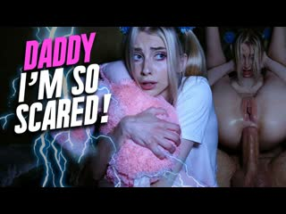 Carolina Sun — Daddy, I Am So Scared - Anal Sex Teen Babe Hardcore Gape Petite Blonde Shaved Pussy Big Dick Cock Cum Porn, Порно