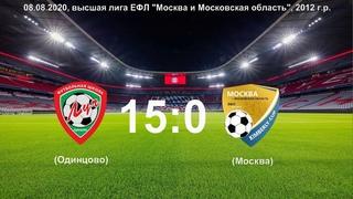 ЕФЛ, летний чемпионат 2012, ФШ Луч-2012 (Одинцово) - Сборная Kimberly Black (Москва)