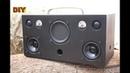 DIY Bluetooth 2 1 Loud VU Subwoofer Boombox Speaker