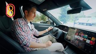 Tesla PLAID со штурвалом — первый обзор!