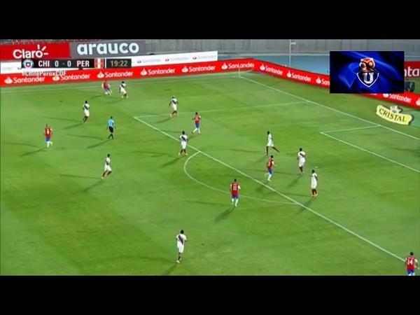 Gol de Arturo Vidal Vs Peru 1 0 Clasificatorias Qatar 2022