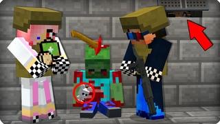 👧Нашли выжившую девочку? [ЧАСТЬ 2] Зомби апокалипсис в майнкрафт! - (Minecraft - Сериал) ШЕДИ МЕН