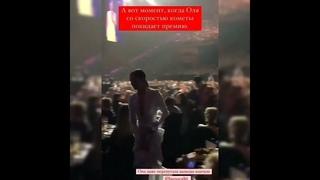 Видео истерики Ольги Бузовой на премии «Жара»