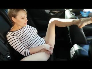 Public masturbation and squirting in the car_1080p