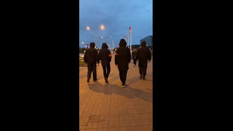 Народная дружина законный способ перемкнуть дубиналом недобитому палицаю Уже на улицах города