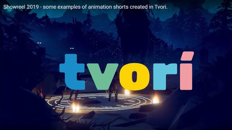 Showreel 2019 some examples of animation shorts created in Tvori