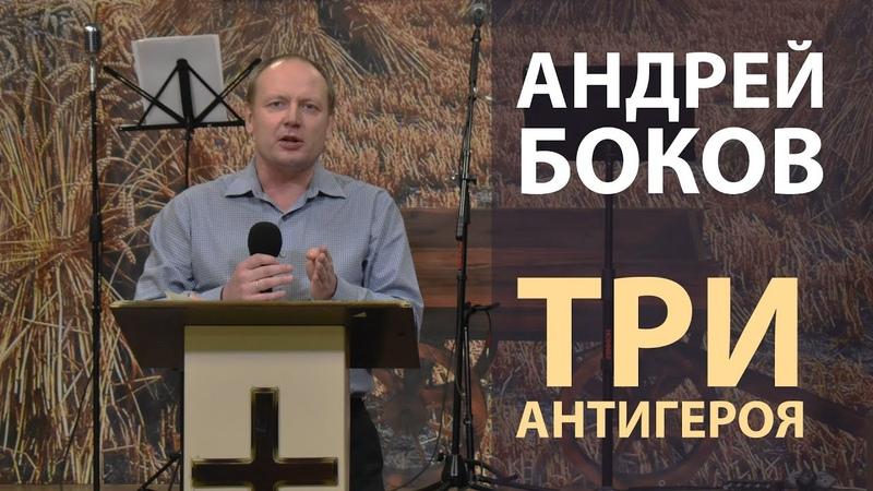 Андрей Боков Три антигероя сурдоперевод