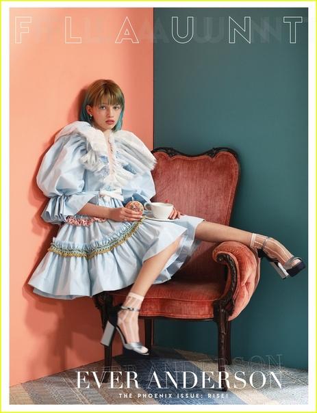 Эвер Андерсон, дочь Миллы Йовович, со страниц свежего выпуска журнала Flaunt Скоро мы увидим её в образе юной Наташи Романофф в сольнике «Черной Вдовы», а после в очередной экранизации «Питера