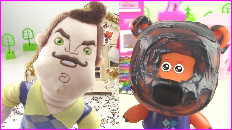 Ми ми мишки Сборник веселых серий про Кешу Тучку и Лисичку Мультфильмы с игрушками для детей