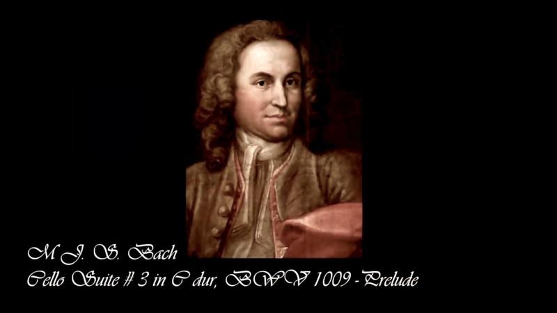 Cello Suite No 3 in C Dur, BWV 1009 - Prelude