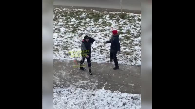 Малолетние хулиганы в Ангарске