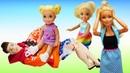 Увлекательные истории про куклы Барби - Сборник видео про классные игры в игрушки.