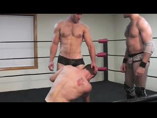 Muscle domination wrestling - morgan vs tony vs damien