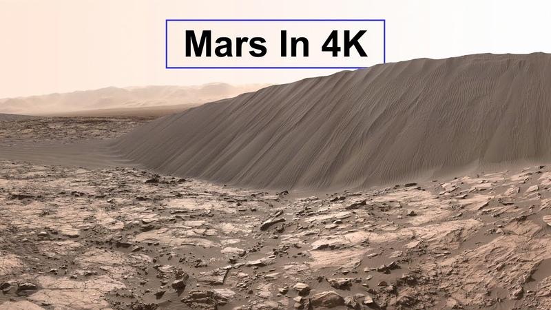 New Mars In 4K