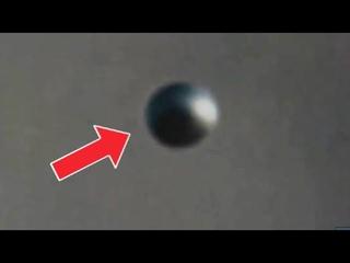 Huge spherical UFO captured in Gębice Poland