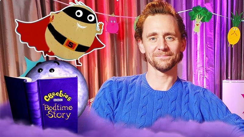 Bedtime Stories Tom Hiddleston Supertato CBeebies