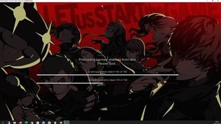Persona 5 на русском языке RPCS3 60 FPS