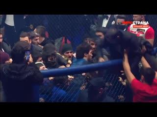 Минеев и Исмаилов устроили массовую драку на турнире Fight Nights