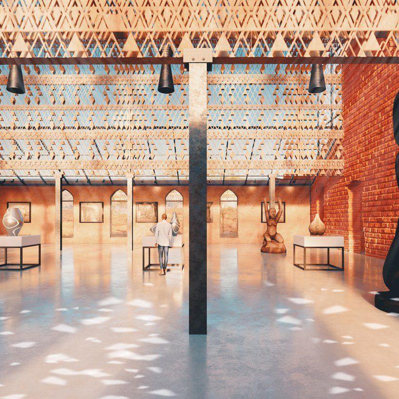 Концепция по реконструкцию старой кирпичной церкви под музей