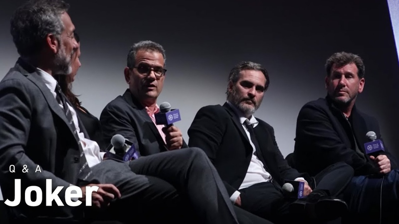 Joaquin Phoenix Todd Phillips Crew on Joker Realism and Reimagining Gotham City NYFF57