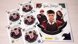 Panini Из фильмов о Гарри Поттере. Обзор журнала и первые наклейки