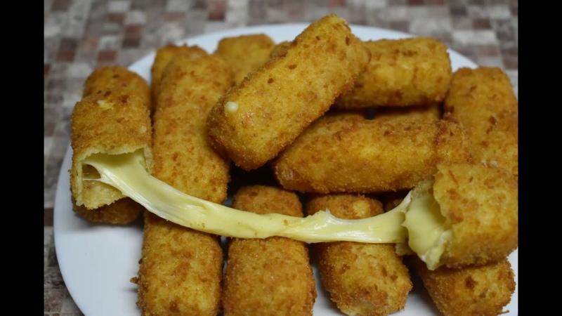 Попробовав хоть раз Сырные палочки во фритюре этот вкус тянущегося сыра Приготовьте на праздник