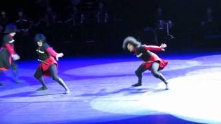 ансамбль Сухишвили - танец Цдо (70-летие ансамбля)