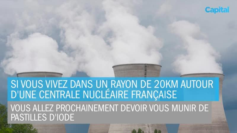 28 mai 2019 NUCLÉAIRE 2 2 MILLIONS DE FRANÇAIS VONT RECEVOIR DES PASTILLES D'IODE
