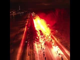 В таком аду мечтает гореть любой футболист! Перед матчем Зенит-Фенербахче (3-1)  г.