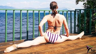 Amazing Flexibility Girl Exercises For Young Athletes @TKD Action