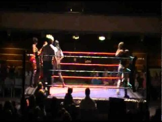 London INC's AMAZON! and Ananya vs Sweet Saraya and Britani Knight  PWF
