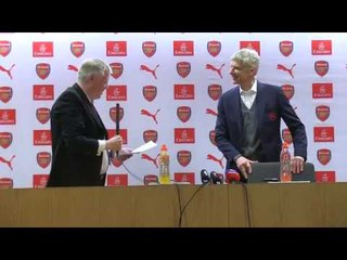John Cross pays tribute as Arsene Wenger bids farewell to Arsenal