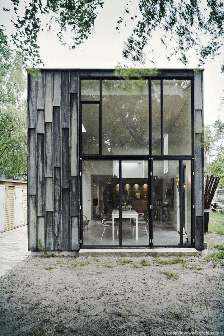 the Forest House by Primus Arkitekter