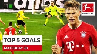 Германия. Бундеслига. Лучшие голы 30-го тура 2020/21