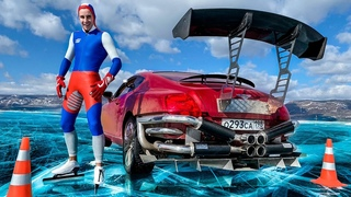 БЕНТЛИ vs ГОРДЕЙ - гонка на Байкале! Кто быстрее на льду?