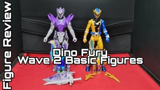 Hasbro's Power Rangers Dino Fury Basic Figures Wave 2, Gold Ranger & Void Knight | Unboxing & Review