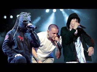 Linkin Park / Slipknot / Eminem - Falling Behind [OFFICIAL MUSIC VIDEO] [FULL-HD] [MASHUP]