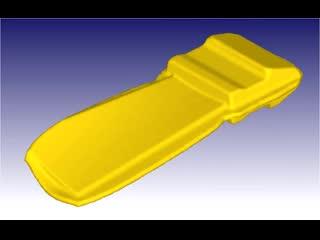 Forging turbine blade Deform 3D