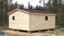 Летний каркасный дом из бытовок 4.6х5.8м. Ягодное. Цена в СПб 151 000 руб.