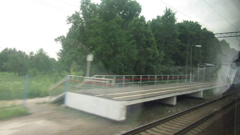 Ильино-Сейма-392 км ГЖД. Поезд 236Г Москва-Нижний Новгород 5.07.2017