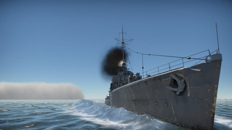 King of the ocean или капитан Владиск косплеит морского волка War Thunder